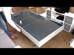 The Convertible Glass Dining Table - Expand Furniture