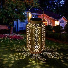 Acier Inoxydable chandelier voies lampe jardin extérieur Lampe reste lanterne verre terrasse