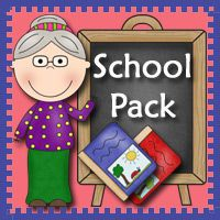 School Printables to go with Book, There Was An Old Lady Who Swallowed Some Books by Lucille Colandro