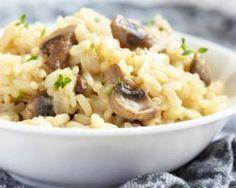Risotto aux champignons au Thermomix® : http://www.fourchette-et-bikini.fr/recettes/recettes-minceur/risotto-aux-champignons-au-thermomixr.html