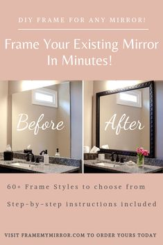 Browse to this site Condo Home Remodel Small Do It Yourself Furniture, Do It Yourself Home, Diy Furniture, Diy Bathroom Decor, Diy Home Decor, Bathroom Mirrors, Master Bathroom, Bathrooms, Home Renovation