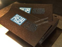light kraft paper material business card - Google Search