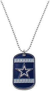 This beautiful Dallas Cowboy dog tag