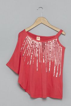 ee5b154f21af Buy Y&F by Westside Coral Blouse with Sequins for Girls Clothing Online @  Tata CLiQ