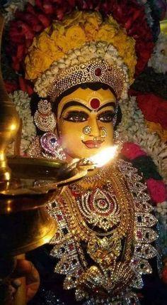 Navratri Puja will help you overcome all your negativities. Flourish with wealth on this Navratri by offering Homam to Lakshmi, Saraswathi & Durga. Lord Durga, Durga Ji, Saraswati Goddess, Indian Goddess, Goddess Lakshmi, Lord Shiva, Lord Vishnu, Shri Hanuman, Shree Krishna