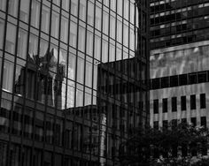 8x10 Black and White Print A Building Within A by PelliculArt