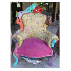 Cornelio Cappelini inspired armchair Furniture Restoration, Armchair, Inspired, Inspiration, Home Decor, Sofa Chair, Biblical Inspiration, Single Sofa, Decoration Home