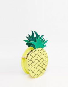 Skinnydip Exclusive Pineapple Cross Body Bag