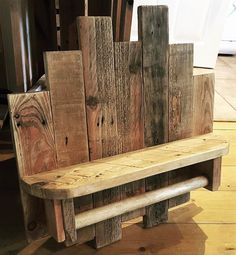 pallet rustic shelf plan