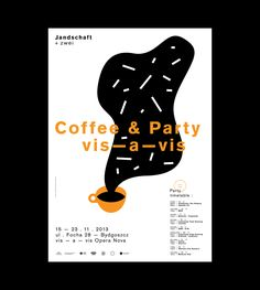 Landschaft +zwei - Coffee & Party on Behance