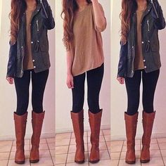 #casual #style #fashion/ love everything about these outfits.