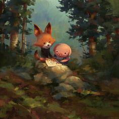 BEAUUUUUUTIFUL Painting by Zac Retz!     Amazing!! zacretz.blogspot.com