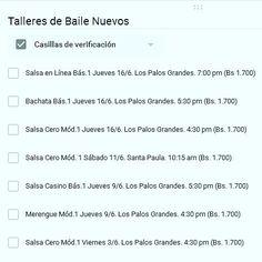 Inicia #junio con nuevos talleres de baile desde este viernes. #SalsaCero #Merengue #SalsaCasino #SalsaEnLinea  #Bachata #Rumbacana #BailaParaDivertirte