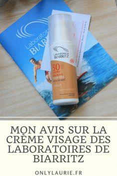 Mon avis sur la crème teintée bio SPF 30 des Laboratoires de Biarritz. Une crème solaire pour le visage avec des filtres naturels.