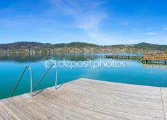 #Lake #Woerth #View From #Beach #MariaWoerth @depositphotos #depositphotos @carinzia @meinwoerthersee #ktr15 #nature #landscape #woerthersee #carinthia #austria #travel #holiday #vacation #season #summer #spring #stock #photo #portfolio #download #hires #royaltyfree