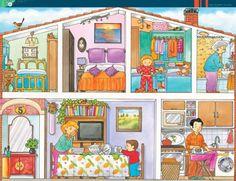 Praatplaat huis, voor kleuters