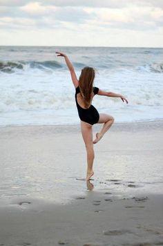 ballet, backless leotards & the beach