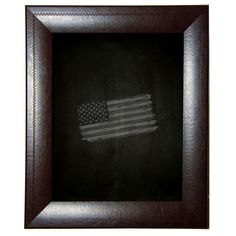 """Darby Home Co Leather Chalkboard Size: 53.75"""" x 65.75"""""""