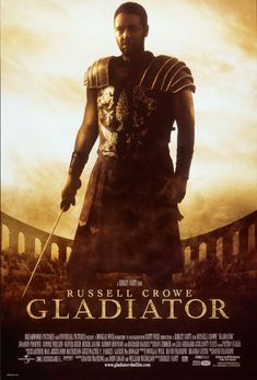 Portrait Gladiator Russell Crowe Autograph Promo Print Desktop Frame