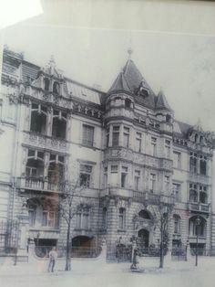 Berlin,  Hansaviertel. Built ca. 1880, destroyed in 1943 by bombs