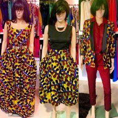 Kiki's Design ~African fashion, Ankara, kitenge, African women dresses, African prints, African men's fashion, Nigerian style, Ghanaian fashion ~DKK