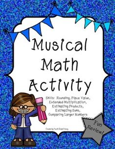 This print and go activity is a great way to integrate music into your math curriculum! Music Math, Teaching Music, Teaching Math, Fun Math Activities, Teaching Resources, Teaching Ideas, Creative Teaching, Music Lessons, Math Lessons