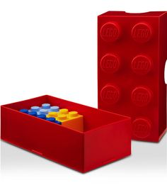Lego My Lunch: Store some stackable treats in these Lego-shaped containers ($15).