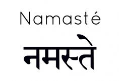 what is the meaning of namaste?