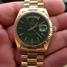 "Rolex Presidential ""Stella"" Arabic Day Date Via @73rolex by dapper.watches"