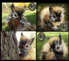 HAND MADE Poseable Fantasy Baby Fee! by Wood-Splitter-Lee