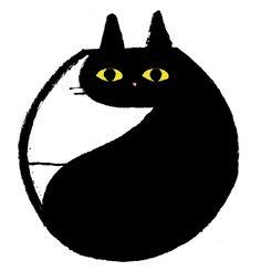 cat by Jean Jullien   #illustration #cat
