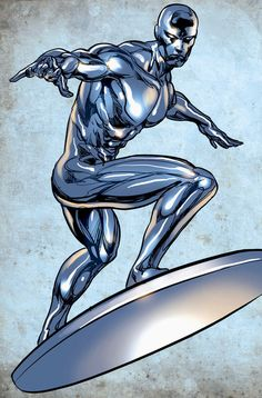 Silver Surfer By Mike Deodato Jr.