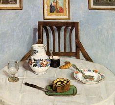 Fenyes, Adolf (1867-1945) - 1910c. Poppyseed Cake (Hungarian National Gallery, Budapest)