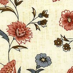 Reproduction Fabrics - turn of the 19th century, 1775-1825 > fabric line: John Hewson Collection, $11/yd
