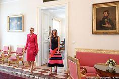 Agata Kornhauser-Duda zaprosiła Melanię Trump na spotkanie w Belwederze.