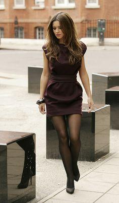 mini dress / chic.