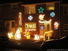 Decorating The House For Christmas star shower laser light as seen on tv - canadian official site