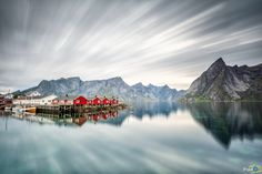 Hamnøy is a small fishing village in the municipality of Moskenes in Nordland county, Norway.