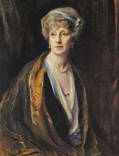 Philip Alexius de László (Hungarian-born British artist, 1869-1937) Lady Frances Gresley 1924