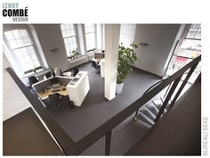 Bureau Beke, Arnhem   Interieurontwerp door Lenny Combé Design. Conference Room, Doors, Interior Design, Table, Furniture, Home Decor, Nest Design, Decoration Home, Home Interior Design