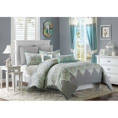 Found it at Wayfair.ca - Sebring 4 Piece Twin Duvet Cover Set