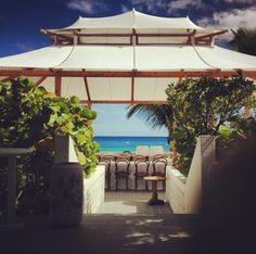That tent... | Ocean View Club | #HarbourIsland #Bahamas