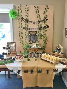 Boys first birthday- Where the Wild Things are