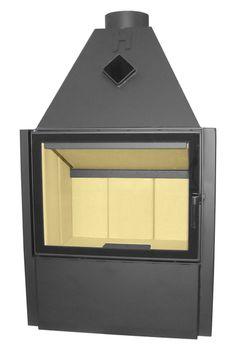 Wkład kominkowy Volcano V1VT  Wymiar Drzwi 670x510 mm #fireplace #insert #wkład komnikowy #hajduk #ogrzewanie