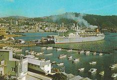 The Northern Star, at Wellington 1962 ,, OWR 18 Feb 2017 Wellington New Zealand, Feb 2017, Kiwiana, Paris Skyline, Trains, Boats, Cruise, Ships, Star