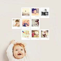 Turning photos into wall decals. So easy to change them up.