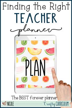 The right teacher planner will offer so much more than just daily lesson plans. Find the one that is right for you with these helpful tips to pick a planner that is right for you. Some things to look for are undated, digital, editable, and printable planner option. Weekly Lesson Plan Template, Daily Lesson Plan, Lesson Plans, Teacher Calendar, Teacher Planner, Teacher Organization, New Students, Classroom Inspiration, Your Teacher