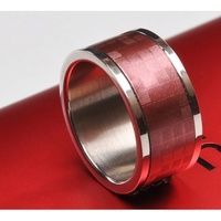 TiMER Smart Magic NFC Ring/Cincin (57.1mm) Red/Mer