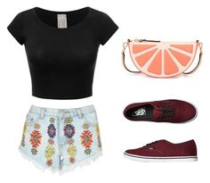 """Simple Day in Coachella"" by rachelsdescription on Polyvore featuring Lipsy, Vans and Kate Spade"
