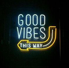 Good Vibes Neon Sign Real Neon Light Z1189